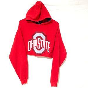 Ohio State Crop Hoodie